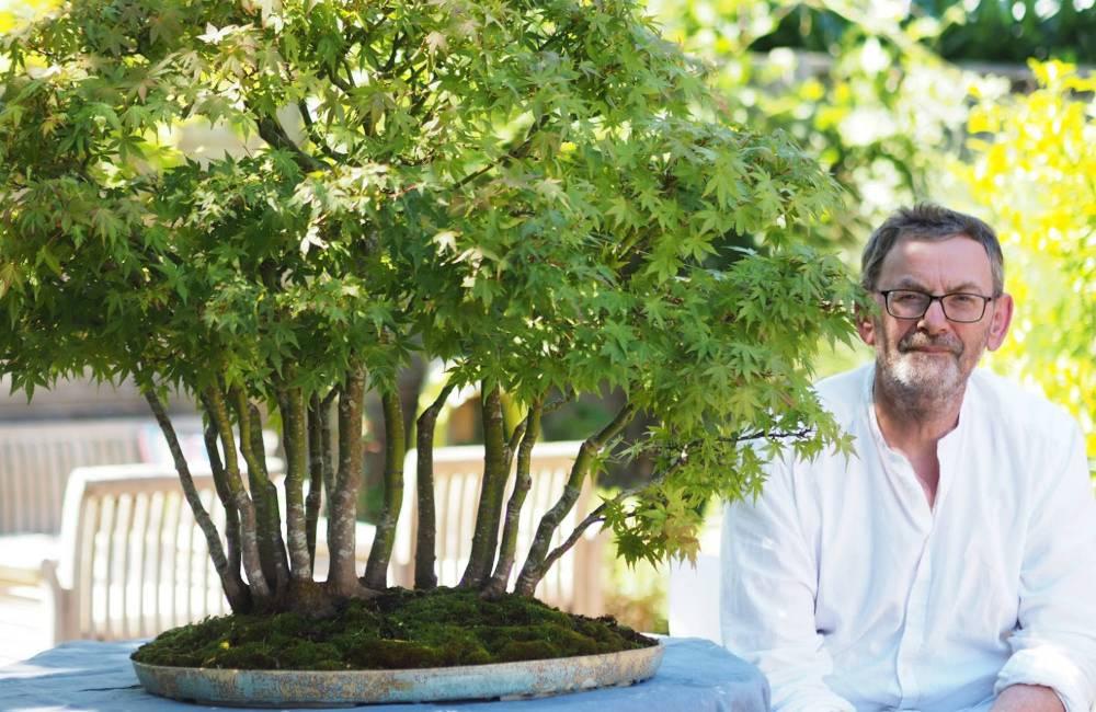 Bruno Auvinet, céramiste bonsai