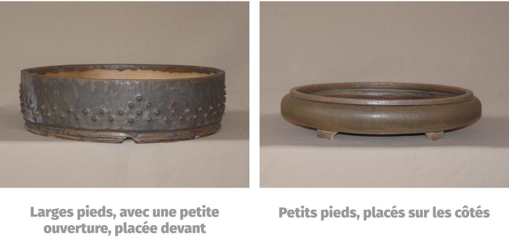 Comment orienter une poterie à bonsai ronde